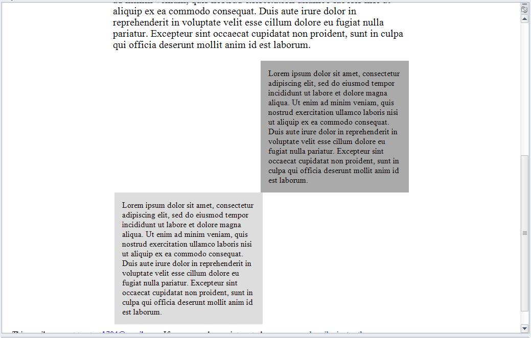 Outlook 2010 screenshot